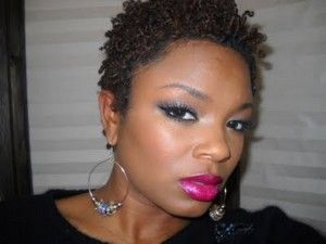 short black natural hairstyles pictures