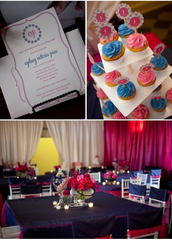 "Amazing ""Sugar & Spice"" 1st birthday party"