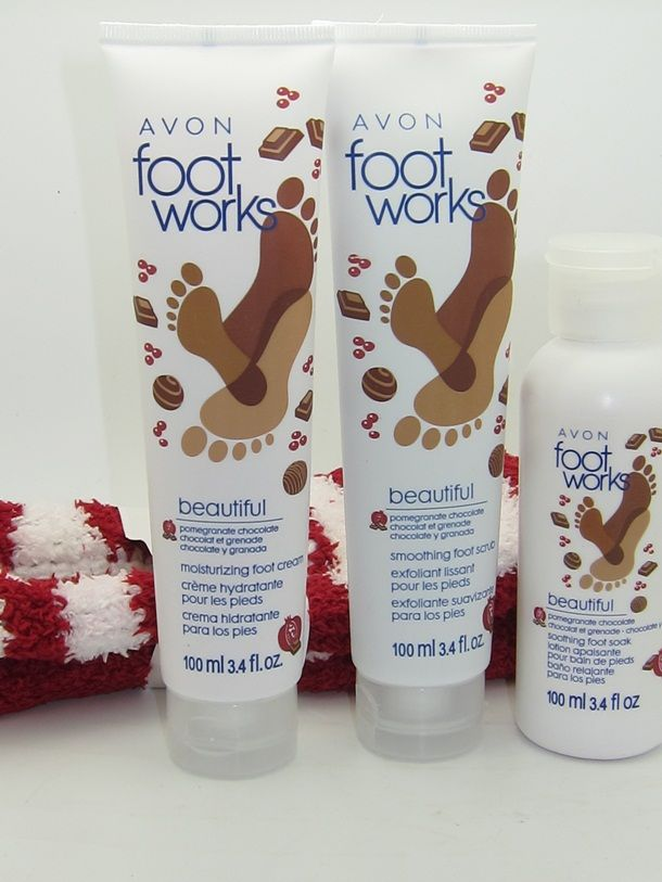 Foot works pomegranate chocolate collection book