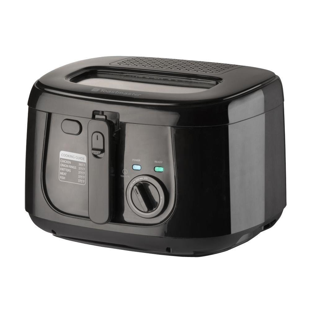 2.5 l 1500-Watt Deep Fryer, Black