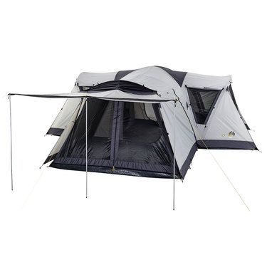 Oztrail Villa Dome Tent Brown u0026 Black | Anaconda $524.99  sc 1 st  Pinterest & Oztrail Villa Dome Tent Brown u0026 Black | Anaconda $524.99 | 4 ...