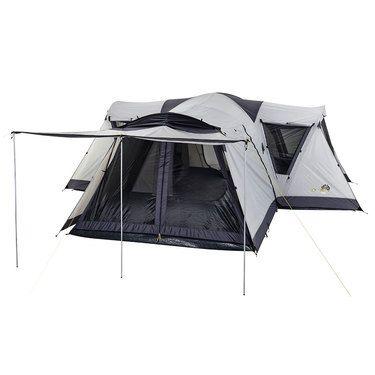 Oztrail Villa Dome Tent Brown u0026 Black | Anaconda  sc 1 st  Pinterest & Oztrail Villa Dome Tent Brown u0026 Black | Anaconda | Viking Storm ...