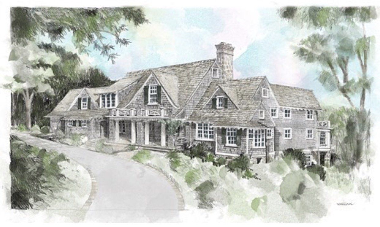 Nantucket Country House Beach Cottage Decor French Cottage House Plans