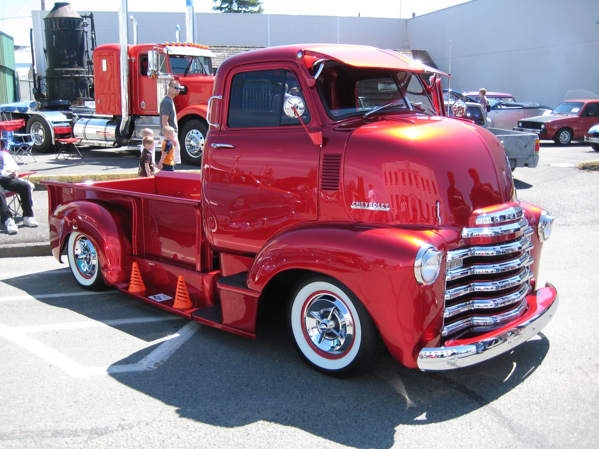 1954 Kchevy Coe Chevy Cars And Rats T Ford Truck 48 54 Chevrolet