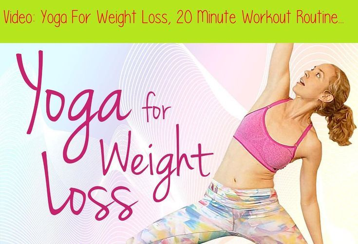 Yoga-Routine zur Gewichtsreduktion