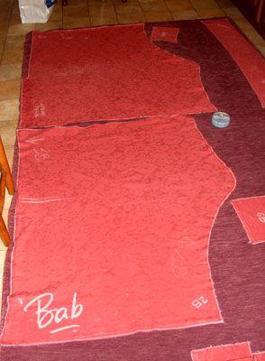 Comment coudre des housses de canape d 39 angle - Patron housse de canape ...