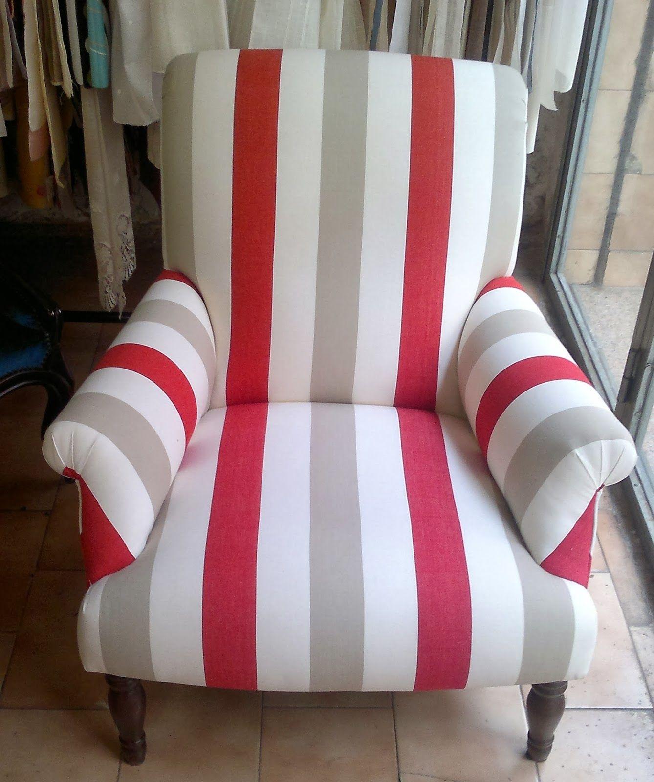 Estos sillones se han modernizado con tapizado en tela de - Sillones tapizados en tela ...