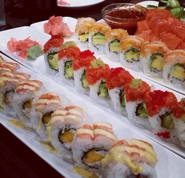 #sushi #yummy #yum #good #yumsushi #salmon