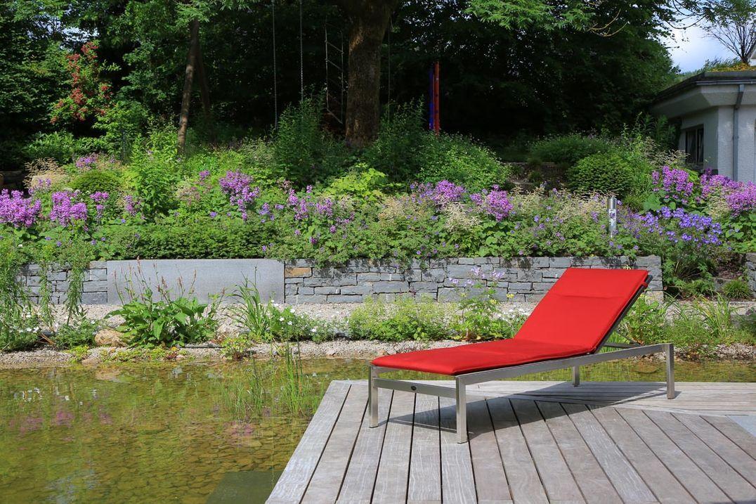 Garten Fur Naturmenschen Garten Natur Gartenmauer