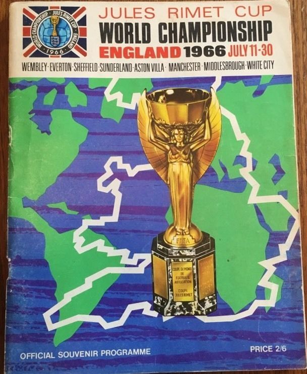 Genuine England 1966 World Cup Tournament Programme, Good Condition