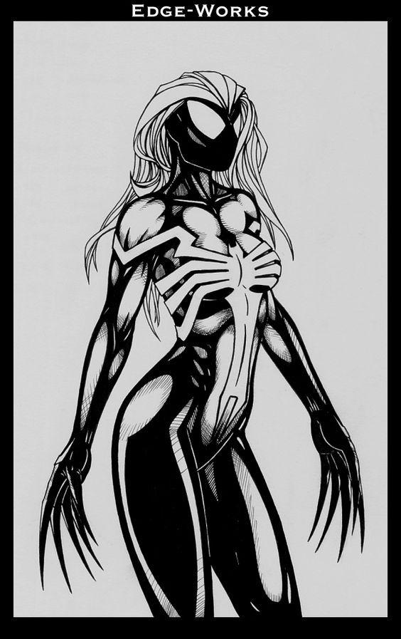 Mary jane she-venom symbiote transformation | Веном