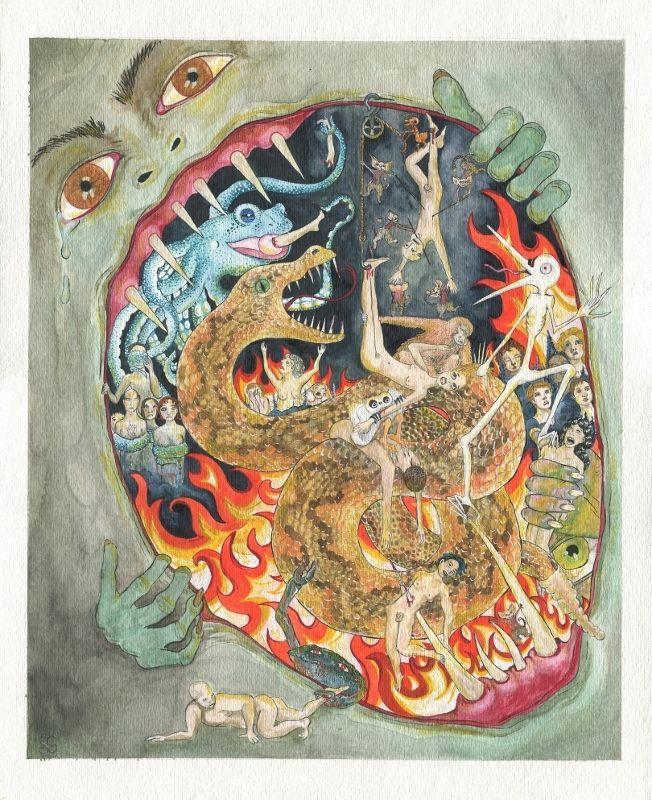 Medieval Art Hell 15 Different Interpret...