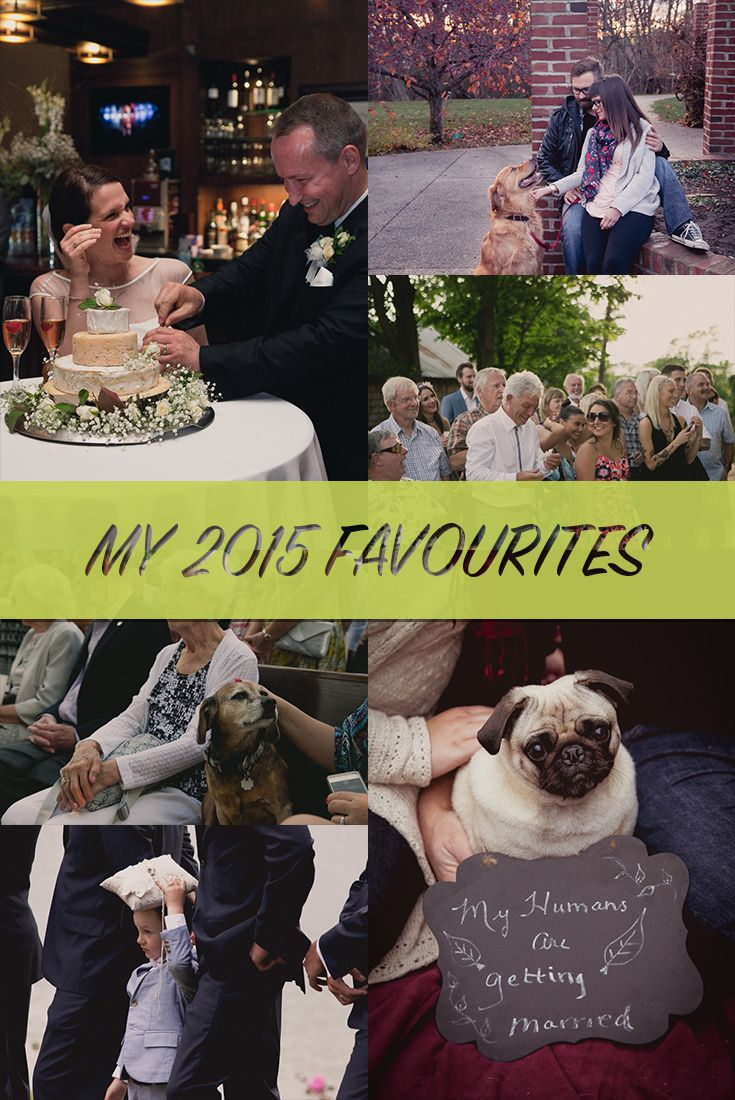 I've shared my funniest moments from 2015, and now it's time for my favourite moments. These are the moments that burned a memory in my mind for the rest of the year. They might have made me smile; they might have made me tear up (but if you repeat that to anyone I'll deny it). Weddings, engagemnts, rain, dogs... See them here: http://sophialemon.com/blog/wedding-planning/my-favourite-moments-from-2015