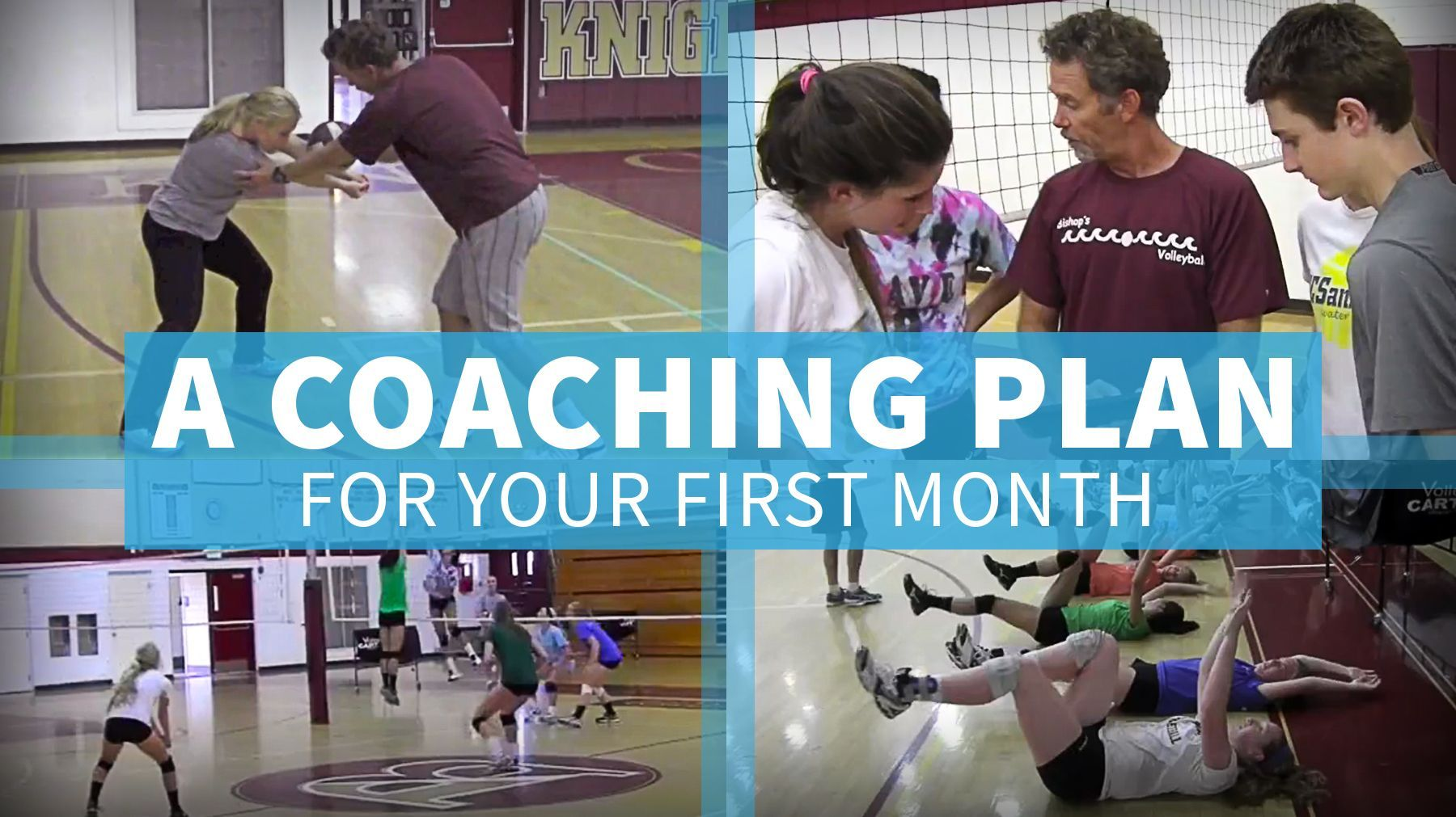 A Coaching Plan For The First Month Of The Volleyball Season The Art Of Coaching Volleyball Volleyball Skills Volleyball Training Coaching Volleyball