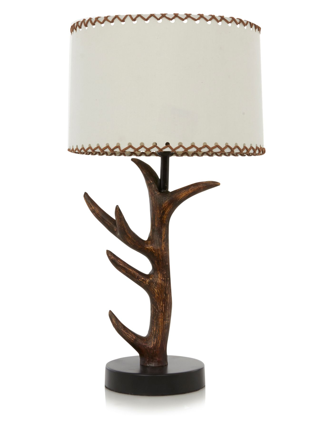 George Home Antler Table Lamp