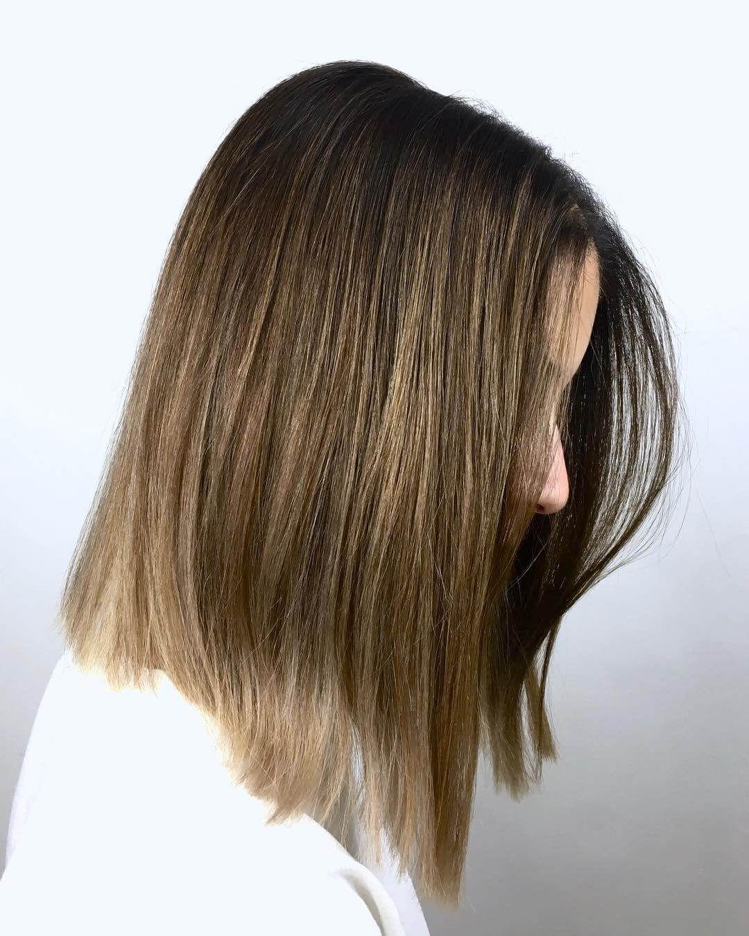 10 mittlere Frisuren für dickes Haar Frauen in 10  Frisur dicke