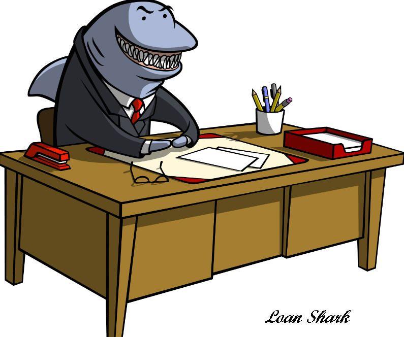 Credit Card Sharks Hunt For Black Prey Credit Card Debt Settlement Payday Loans Loan Shark