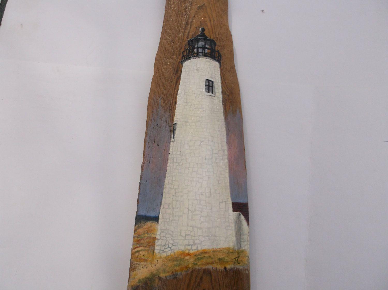 Great Point Lighthouse Nantucket Massachsettes On