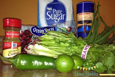Diana Rambles: Fresh Cranberry Salsa