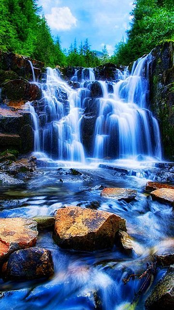 Download Waterfall 360 X 640 Wallpapers Waterfall Mobile9 Beautiful Photography Nature Beautiful Places Nature Beautiful Nature Pictures