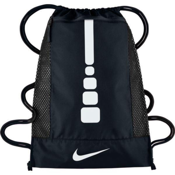 321d9e7f9f Nike Hoops Elite Basketball Gym Sack Ba5342-010 Black White