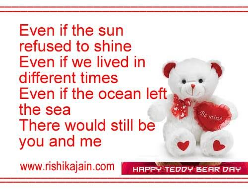 Teddy day | Therese Williams | Pinterest | Quote pictures ...