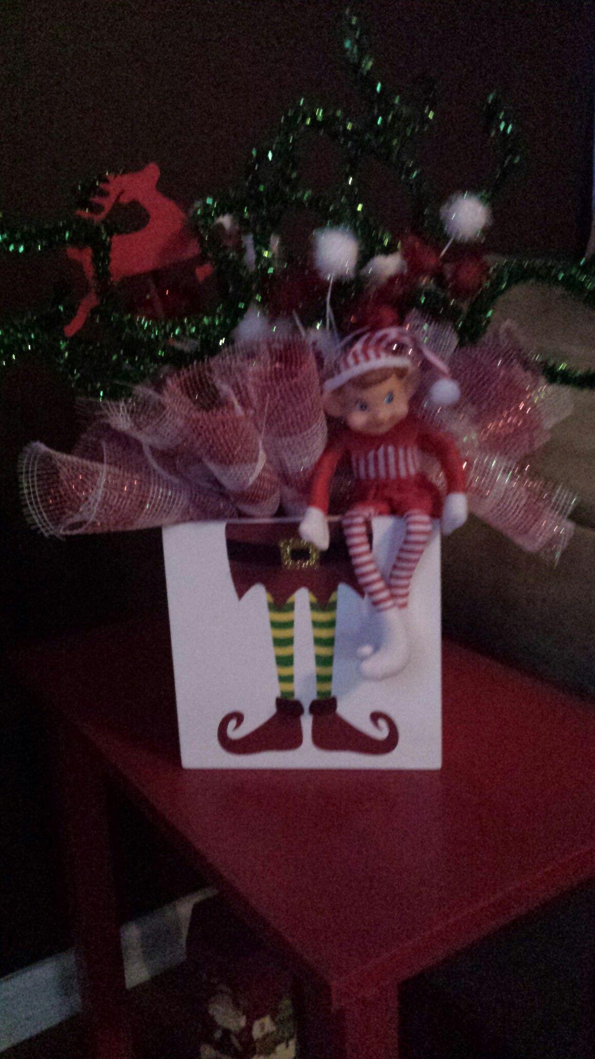 Elf decoration. | Elf decorations, Christmas home ...