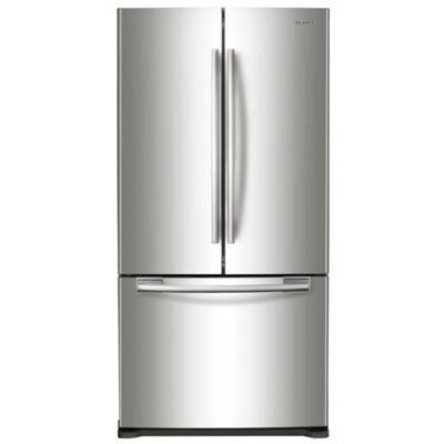 Samsung Rf18hfenbsr French Door Refrigerator Extra Tall Counter