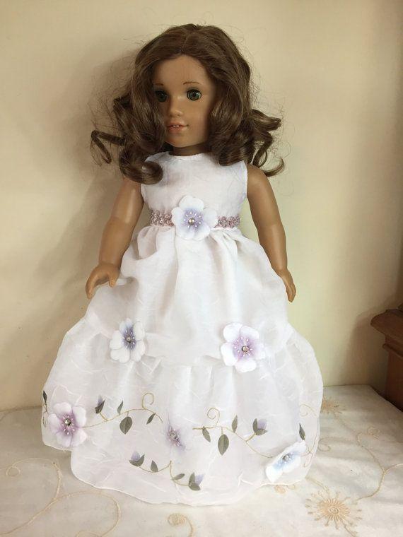 American Girl Garden Party Dress with Headband | Garden tea parties ...