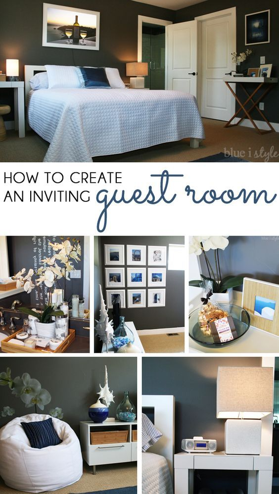 House & decorating with style How to Create an Inviting Guest Room ...