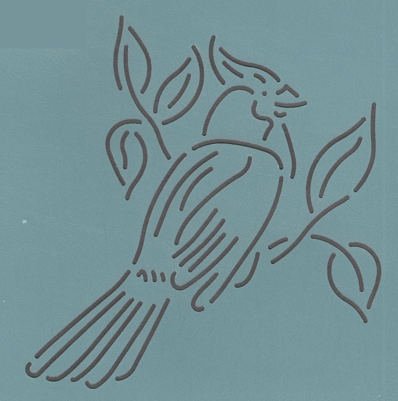 "Cardinal 5.5"" - The Stencil Company"