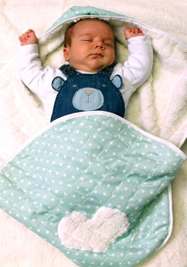 Decke für Babyschale \