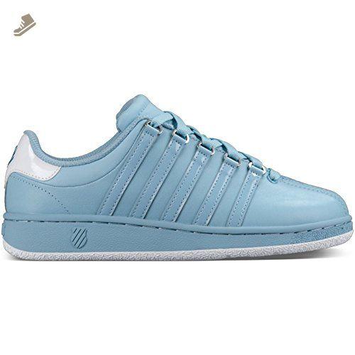 K-Swiss Women's Classic VN Fashion Sneaker, Dream Blue/White, 6.5 M