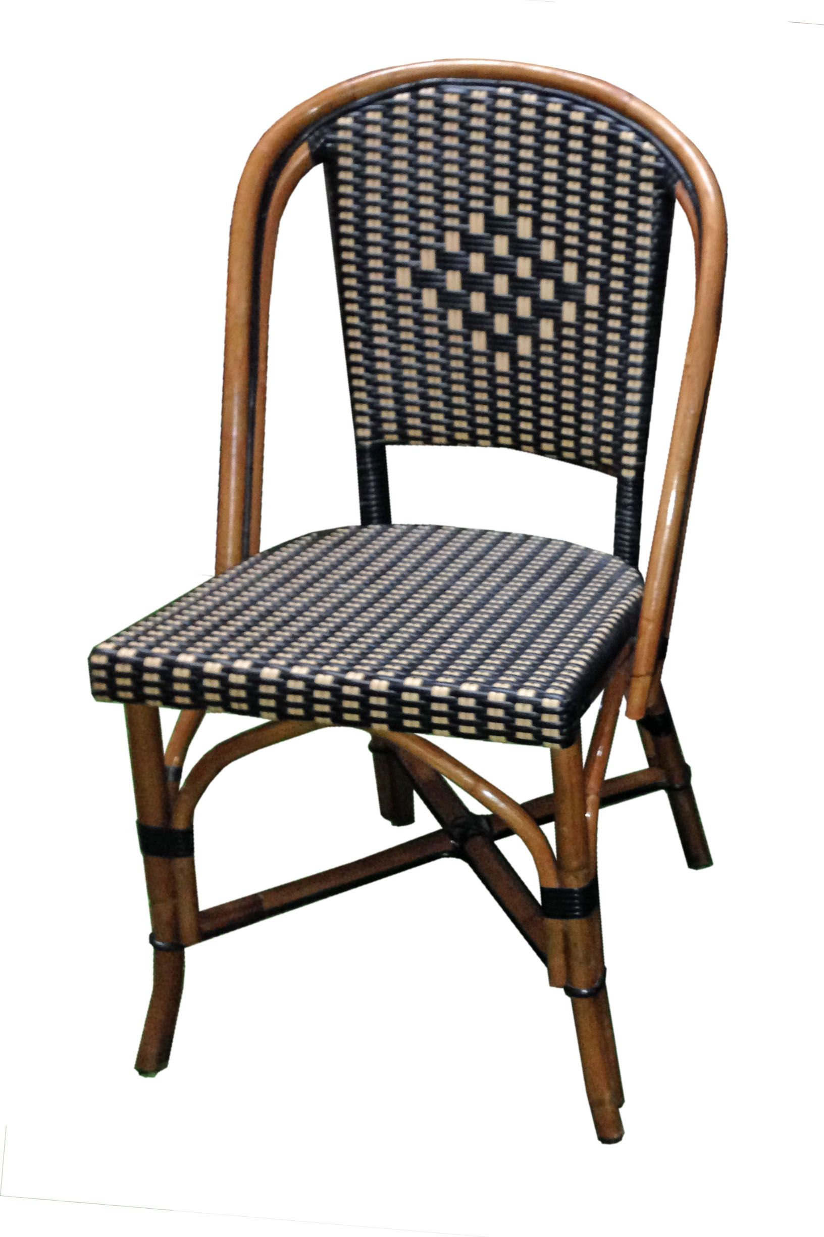 FRENCH BISTRO SIDE CHAIR, HK 81, WEAVE: L1H2 DIAMOND CENTERED, COLORS