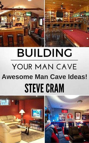 Building Your Man Cave – Awesome Man Cave Ideas!