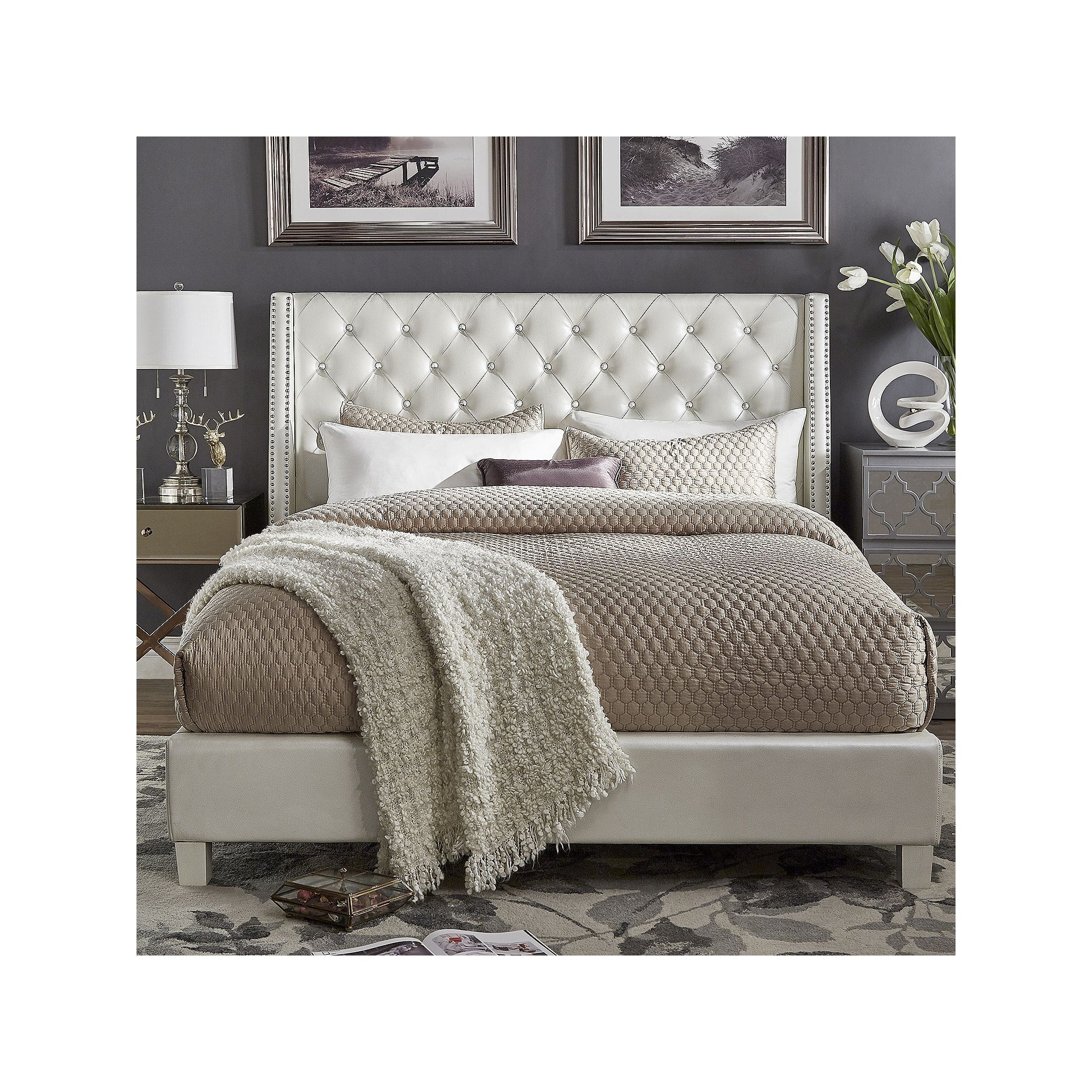 pdx home hurley furniture wayfair panel bed wingback co upholstered darby