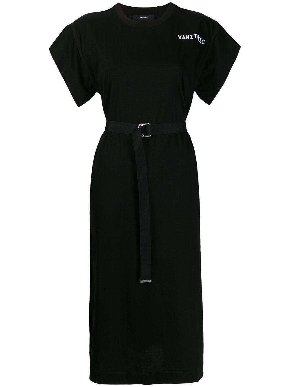 Diesel D Flix T Shirt Dress Farfetch T Shirt Dress Shirt Dress Black Shirt Dress [ 1334 x 1000 Pixel ]