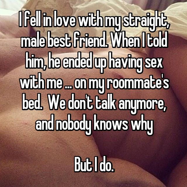 my straight friend kissed me