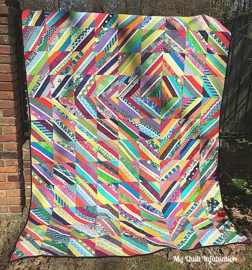 Vortex String Quilt Tutorial | String quilts, Quilt tutorials and ... : string quilting tutorial - Adamdwight.com