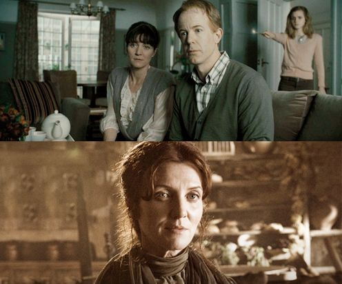 Catelyn Stark Michelle Fairley Played Mrs Granger In Harry Potter And The Deathly Hallows Michelle Fairley Catelyn Stark Stark