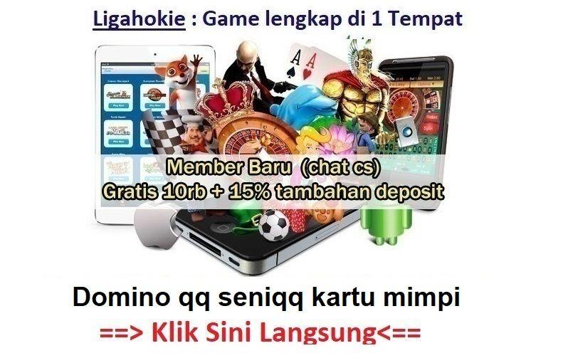 Domino Qq Seniqq Kartu Mimpi Main Di Website Resmi Bertestimoni Poker Game Monopoly