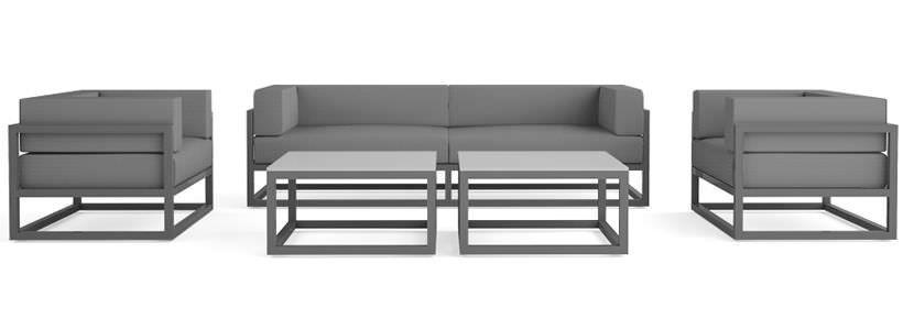 Great Contemporary Sofa / Garden / Metal /   PAU By Ronan Rlsselin   Axthor  Outdoor Furniture