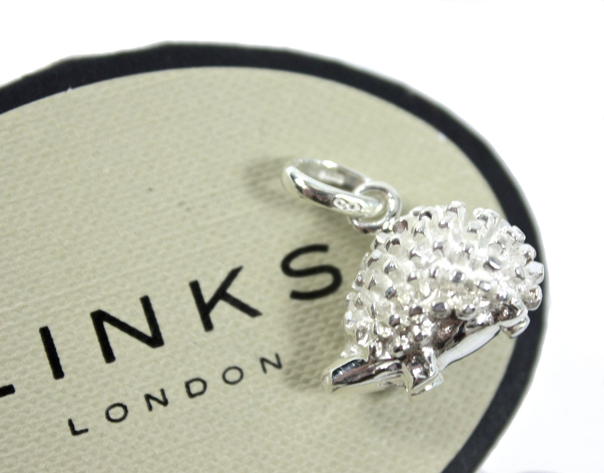 New LINKS OF LONDON Sterling Silver Hedgehog Sweetie Charm
