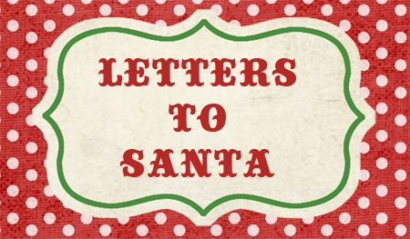 Letter To Santa Free Printable Download  Printable Letters Free