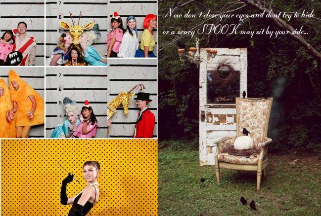 >>>Halloween Photobooth Inspiration