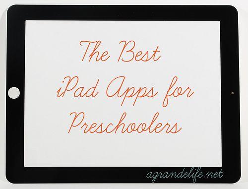 Best iPad apps for preschoolers