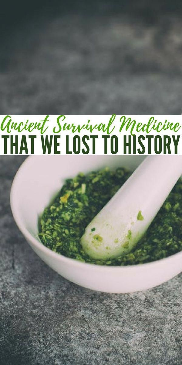 Ancient Survival Medicine That We Lost To History