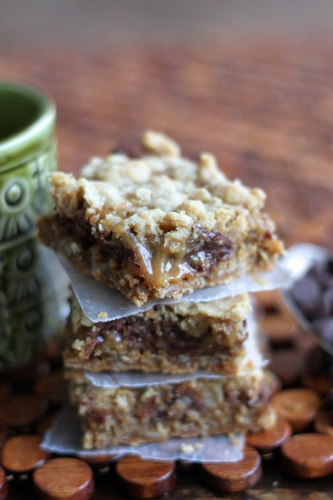 Oatmeal Caramel Bars-The only recipe you will ever need for these.  Period.
