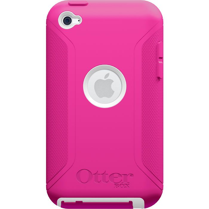 Otterbox iPod Touch 4G Defender Case - Pink/White