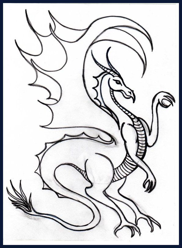 Realistic Dragon Coloring Pages Printable Cp Dragon Dragons And